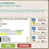 FarmVille Bakery Delivery Co-op mis