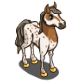 FarmVille LE Wild West Animals: Palouse Horse & Palouse Foal