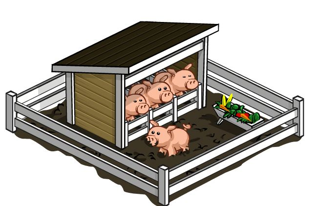farmville pigpens have arrived