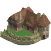 FarmVille New England Buildings: Stone Villa & Village Center