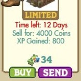 FarmVille LE Wild West Buildings: Trading Post, Wild West Barn, & Wild West Barn
