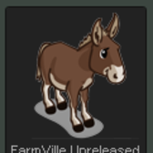 FarmVille Unreleased Animated Mule