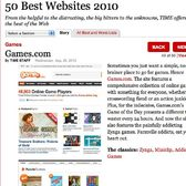 TIME's 50 Best Websites 2010 list -- yup, we're on it!