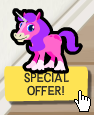 Happy Pets Pink Unicorn Special Offer