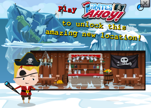 Play Pirates Ahoy! Unlock Hotel City Big North