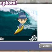 Ride the waves in YoVille with the Surfing Photo Booth