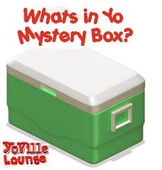 YoVille Green Mystery Camp Cooler
