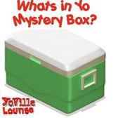 YoVille's Free Gifts Page gets a Green Mystery Camp Cooler