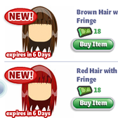 YoVille: More Premium Permanent Hairstyles in Salon