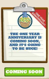 cafe world one year anniversary menus