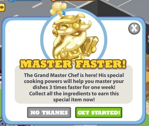 cafe world grand master chef