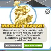 Cafe World Grand Master Chef: Build
