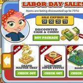 Cafe World: Save big on cash, coins and more in the Labor Day Sale