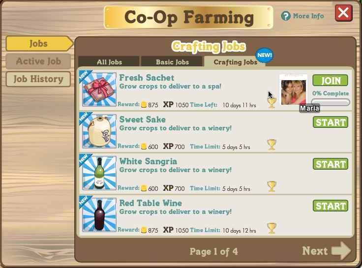 farmville coop farming crafting