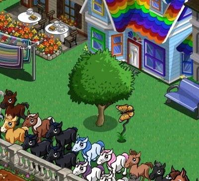 FarmVille Orange Butterfly and Wax Apple Tree Appearing in Mystery Eggs