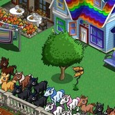 FarmVille Orange Butterfly and Wax Apple Tree Appearing in Mystery E