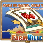 FarmVille Double Mastery Weekend: It's on!