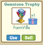 farmville gemstone trophy