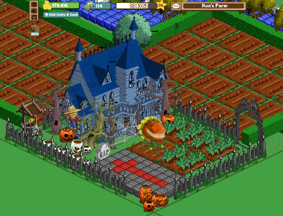 farmville halloween 2010 predictions: What will we see?