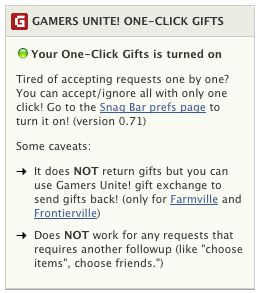 gamers unite one-click gifts