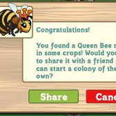 FarmVille Queen Bees suddenly swarm our crops, Facebook walls