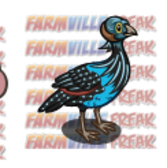 FarmVille Unreleased Roseate Spoon Bill, Pied Pig, &amp; Vulturine Guinea Fowl