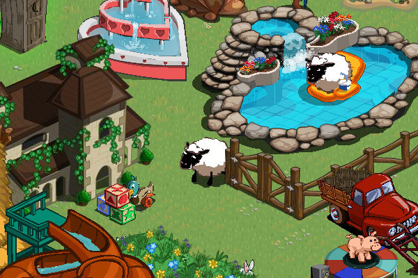 farmville toy collection toy sheep