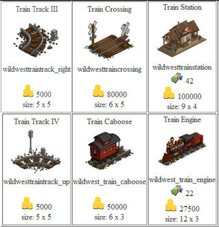 FarmVille Train