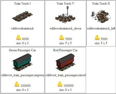 FarmVille Trains
