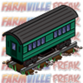 FarmVille Unreleased Wild West Theme: Train Engine, Passenger Car, Caboose, Train Station &amp; more