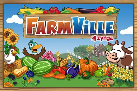 FarmVille for iPhone loading screen