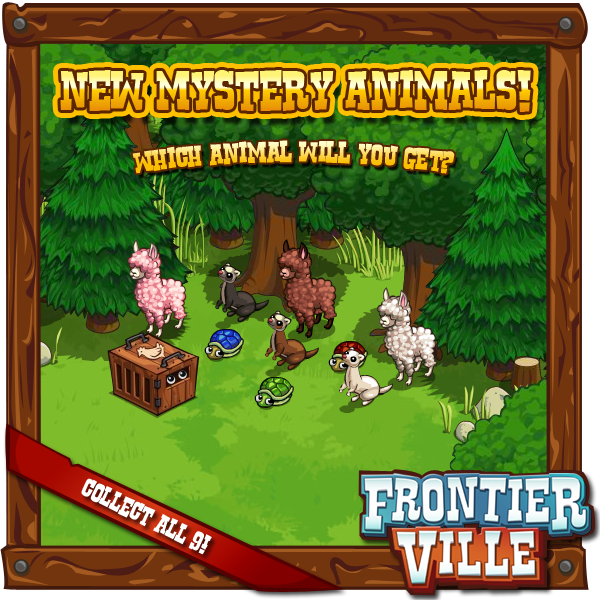 FrontierVille Mystery Animals are back