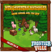 FrontierVille Mystery Animal Crates are back with a bunch more d