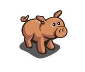 FarmVille Strawberry Pig