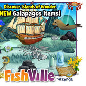 FishVille Galapagos Theme bringing Darwin's best to your tank soon