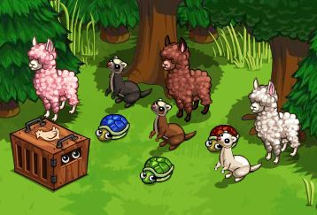 farmville mystery animals