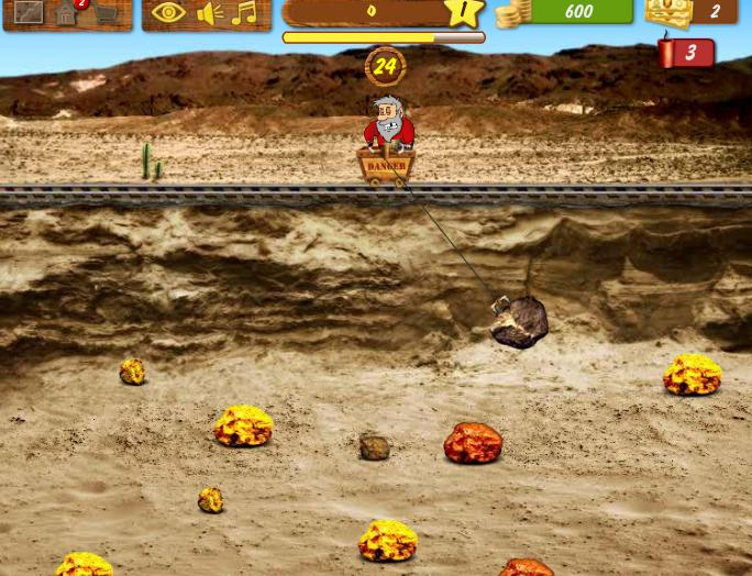 Gold Miner World gameplay