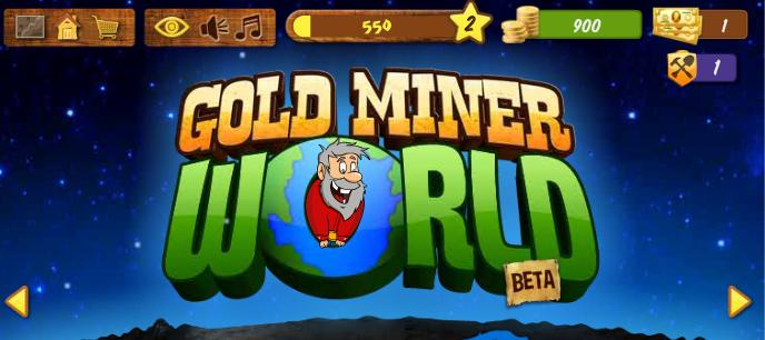 Gold Miner World logo