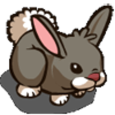 FarmVille Limited Edition Wild West Animal: Cottontail Rabbit