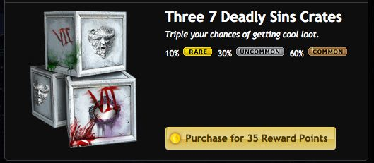 mafia wars 7 deadly sins crates