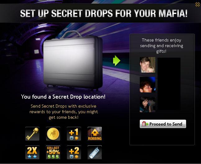 Mafia Wars Secret Drops