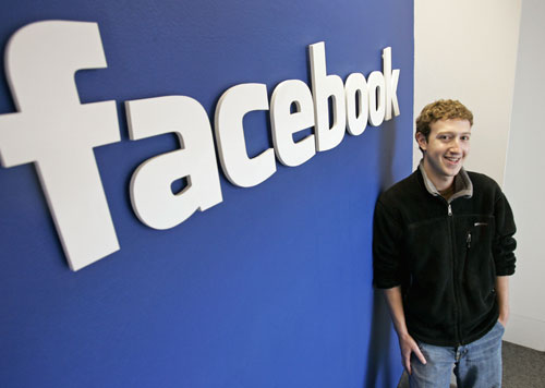Mark Zuckerberg CEO of Facebook