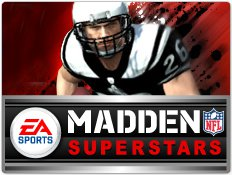 The official logo for Madden NFL Superstars.