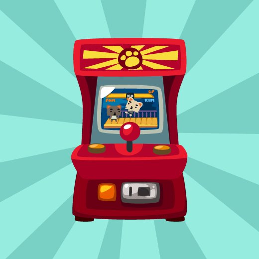 Pet Society Fighting Arcade Game