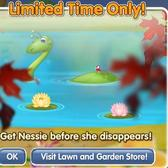 PetVille Crystal Springs: Nessie rises from the deep to join your pets