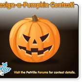 PetVille Design-A-Pumpkin Contest: Carve your spookiest pumpk