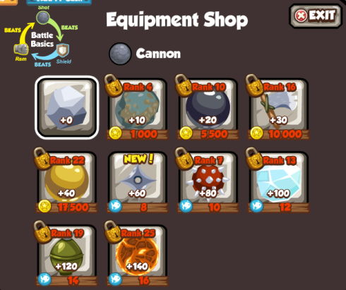 Pirates Ahoy Battle Arena Equipment Shop Cannon