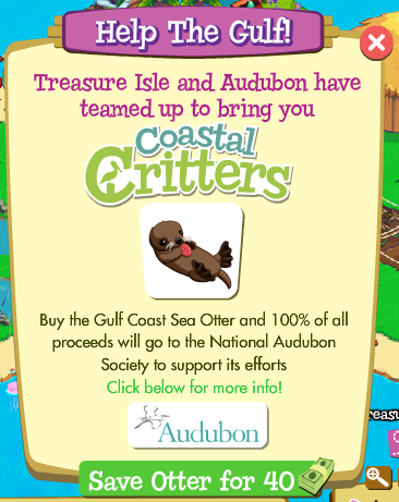 Treasure Isle Coastal Critters