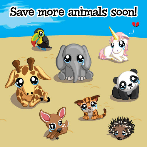 treasure isle save more animals soon