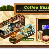 Restaurant City Coffee Buzz Contest: Playfish Cash for those with the coolest Coffee Bars